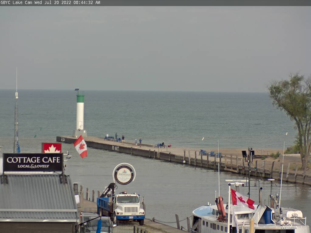 Grand Bend Yacht Club Web Cam